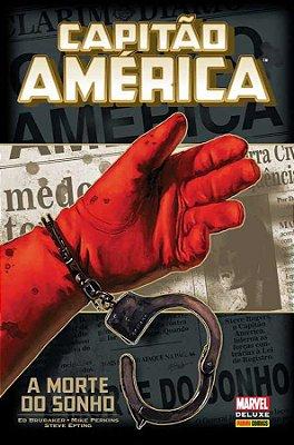 Capitao América: A Morte do Sonho Marvel Deluxe