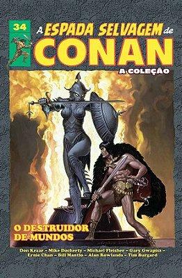 A Espada Selvagem de Conan Vol.34