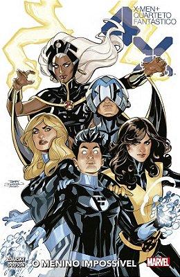 X-men/quarteto Fantástico