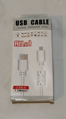 Cabo USB All In1 1°Linha Iphone