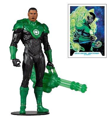EM BREVE - Green Lantern John Stewart McFarlane Toys (Lanterna Verde)