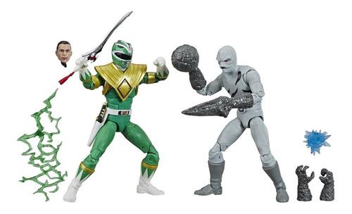 Green Ranger Putty Patroler 2-Pack Lightning Collection (Ranger Verde)