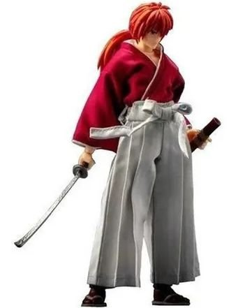 Rurouni Kenshin Himura Dasin Models (Samurai X)
