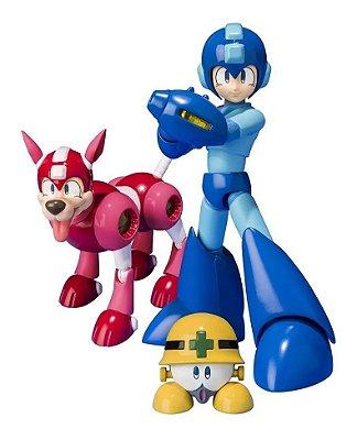 Mega Man e Rush D-Arts