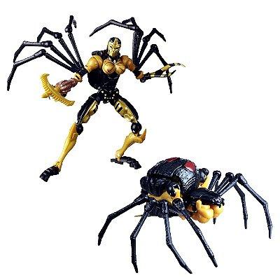 Blackarachinia Transformers War for Cybertron: Kingdom (Viúva Negra Beast Wars)
