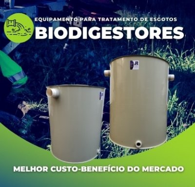 MINI - biodigestores