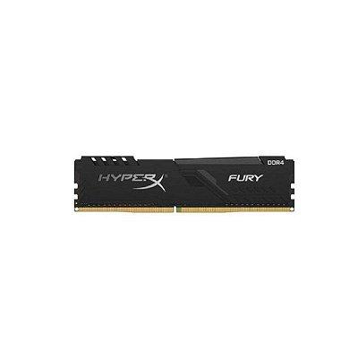 Memória 8gb Ddr4 2666mhz 1.2v Hyperx Fury Preta - Desktop