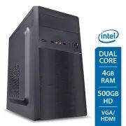Computador Desktop Dual Core 4gbRam Hd500Gb - Vga/Hdmi  33183 - Intel