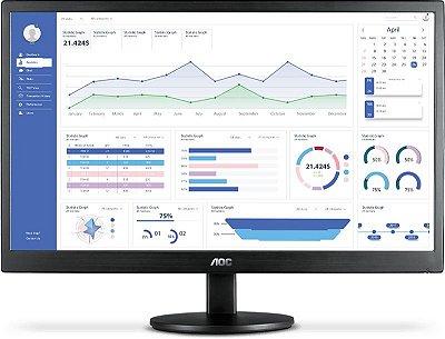 Monitor Led 18.5 E970Swhnl (Hdmi/Vga) Widescreen - Aoc