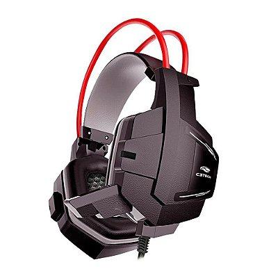Fone Headset Gamer 2X P2 C/ Mic. Sparrow Ph-G11Bk Preto - C3 Tech