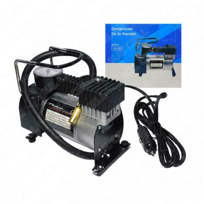 Super Mini Compressor Ar Automotivo 12v Lelong Le-975