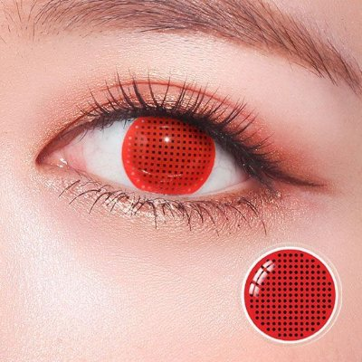 Red Mesh - 14mm