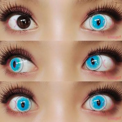 Sweety Crazy Cat Blue - 14mm