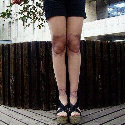 Meia-calça Jointed Doll (Boneca)