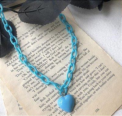 Choker Kawaii Candy - Azul