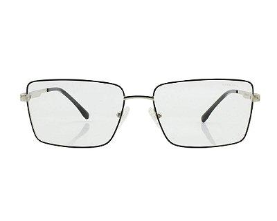 Armação de Grau Ferrovia Óculos de Grau Metal Resistente