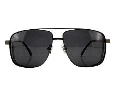 Óculos de Sol Masculino Ferrovia Metal Proteção UVA/UVB