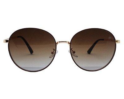 Óculos de Sol Ferrovia Metal Feminino Proteção UVA UVB 2021