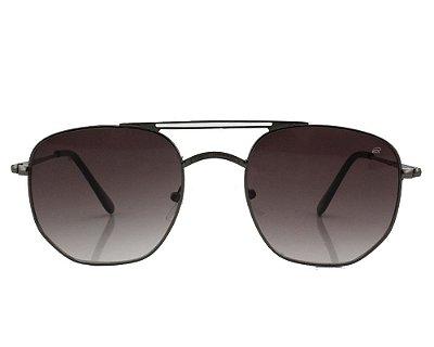 Óculos de Sol Ferrovia Metal Hexagonal Proteção UVA 2021