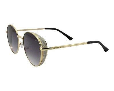 Óculos de Sol Ferrovia Metal Redondo Proteção UVA UVB 2021