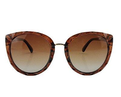 Óculos de Sol Feminino Ferrovia Acetato Proteção UVA/UVB 2021
