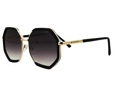Óculos de Sol Ferrovia Metal Proteção 100% UVA UVB 2021