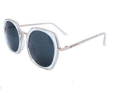 Óculos de Sol Feminino Ferrovia Acetato Proteção UVA/UVB