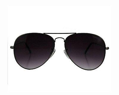 Óculos de Sol Ferrovia de Metal Aviador Proteção UVA/UVB