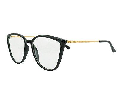 Armação de Grau Ferrovia Óculos Acetato Resistente