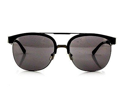 Óculos de Sol Unissex Ferrovia com Armação de Metal