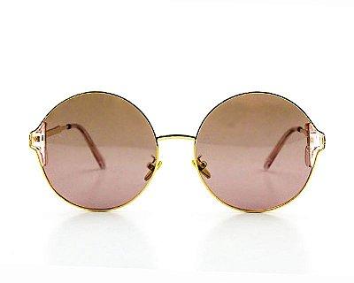 Óculos de Sol Ferrovia de Metal Proteção UVA/UVB