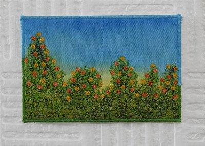 Cartão postal - série flores - COREÓPSIS