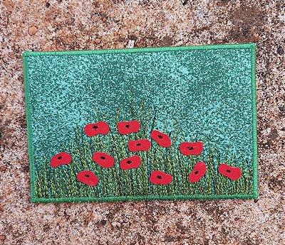 Cartão postal - série flores - PAPOULINHAS
