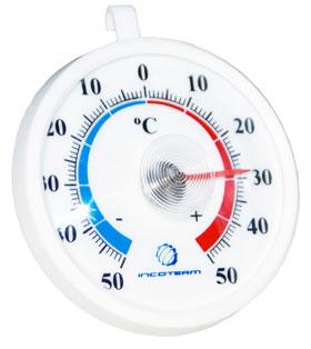 Termômetro para Refrigeração Bimetálico