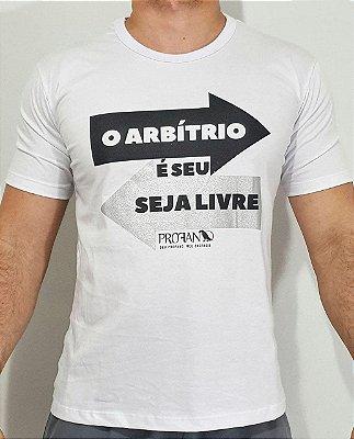 Camiseta - Livre Arbítrio
