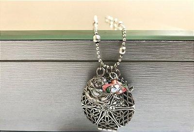 Colar Relicário Mandala