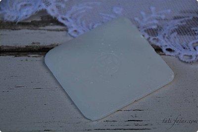 Giz de parafina branco