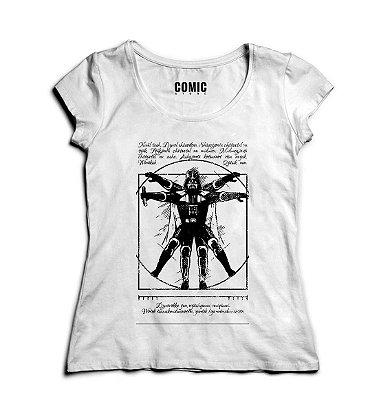 Camiseta Star Wars Darth Vader Vitruvian