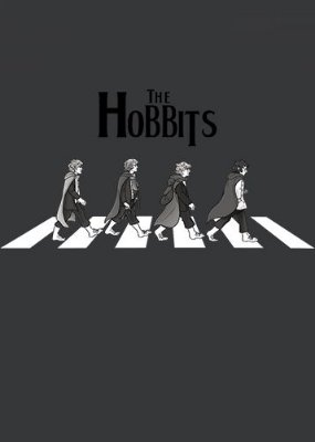 Camiseta The Hobbits