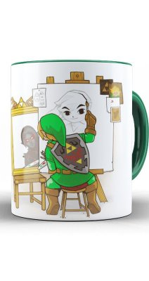 Caneca Legend of Zelda: Link Great Designer