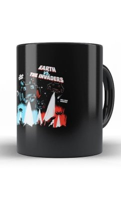 Caneca Earth vs The Invaders