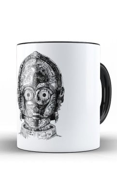 Caneca  Star Wars C-3PO face