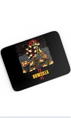 Mouse Pad Bowzilla