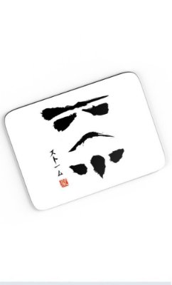 Mouse Pad Star Wars Stormtrooper Face