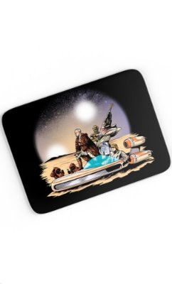 Mouse Pad Star Wars Travel