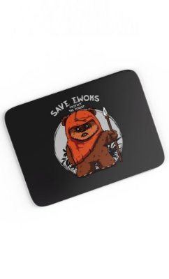 Mouse Pad Ewoks