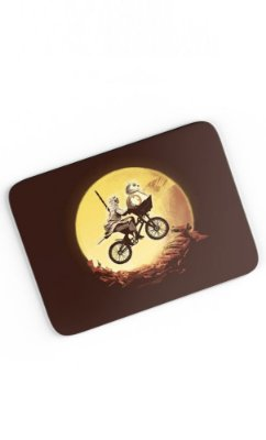 Mouse Pad Star Wars Rey & Bb8 Travel