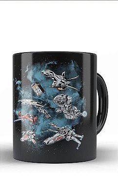 Caneca Star Wars Ships