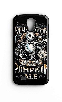 Capa para Celular Skelation Pumpkin Ale Galaxy S4/S5 Iphone S4
