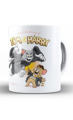 Caneca Tom e Harry